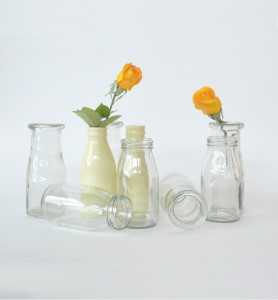 Assorted Mini Milk Bottles