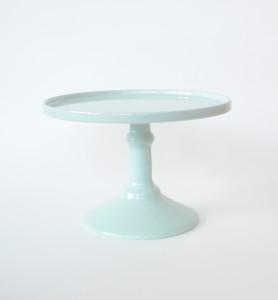 24cm Mint Green Cake Stand