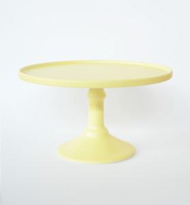 30cm Yellow Cake Stand