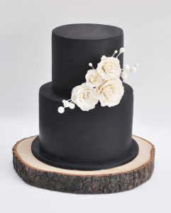 black and white buttercream wedding cakes bridal mad about cakes 11833