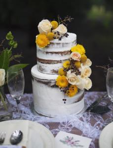 Rustic Semi-Naked Cake